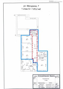 Приложение №6 - План (Мичурина 7, 125.2 м2)